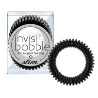 Invisibobble SLIM - The Elegant Hair Ring - True Black