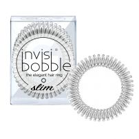 invisibobble SLIM - The Elegant Hair Ring - Chrome Sweet Chrome