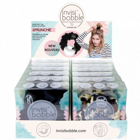 Invisibobble Sprunchie (12) - Hair Ring Meets Scrunchie - Set
