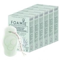 FOAMIE Aloe You Vera Much Conditioner Bar - 6 Pack Bundle
