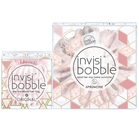Invisibobble Marblelous Duo Pack Original + Sprunchie