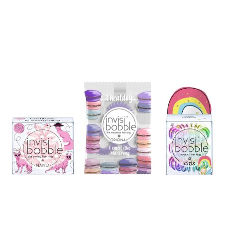NEW Invisibobble Not Just For Kids Hair Tie Bundle