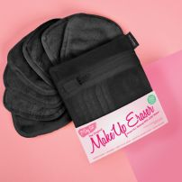 MakeUp Eraser Black 7-Day mini Set + laundry bag