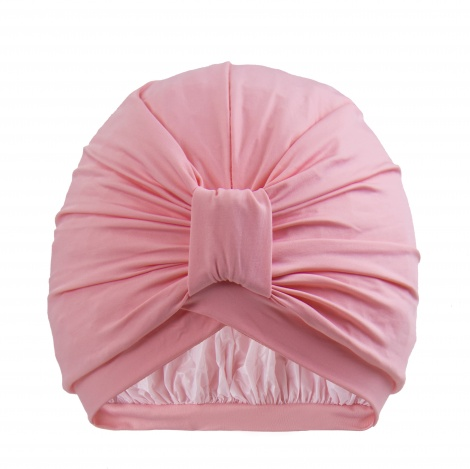 NEW STYLEDRY Turban Shower Cap | Colour: Cotton Candy