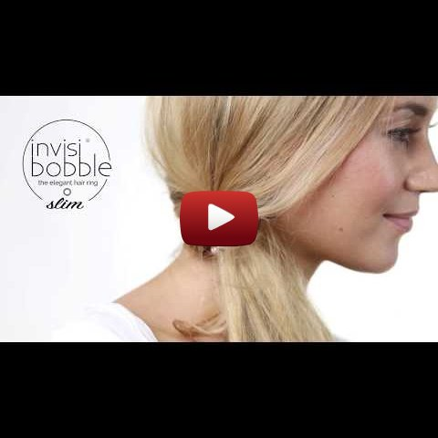 How to invisibobble® SLIM - the slightly different ponytail