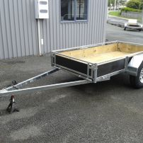 Heavy Duty Single Axle Trailers