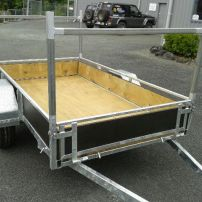 H frame for 8 x 4 trailer