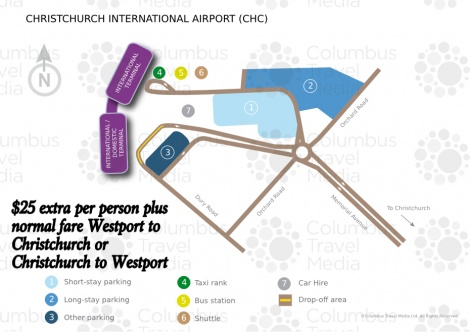 Christchurch Airport Pickup/Drop off