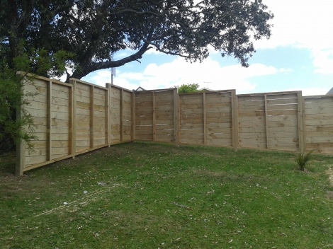 Road Front Property Fence