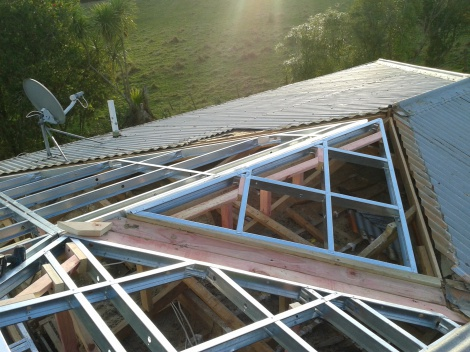Steel Framing Alteration