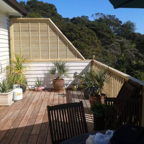 Deck with Balustrade