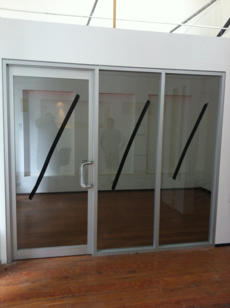 Commercial Hinged Door with Sidelights