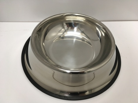 Large Metal Dog Bowl