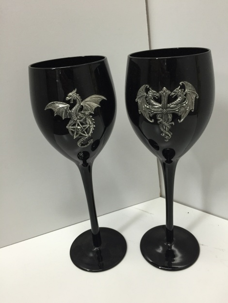 Gothic Glass Goblet