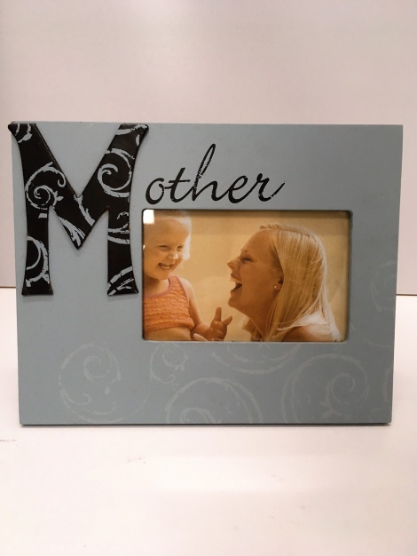 Mother Picture Frame - Blue