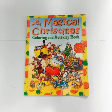 Colouring and Activity Christmas Book
