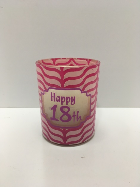 18th Birthday Candle