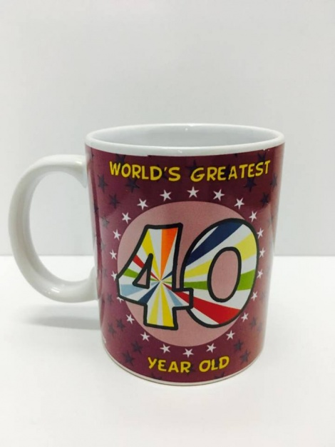 40th Coffee Mug - Unisex