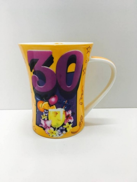 30th Coffee Cup - Male