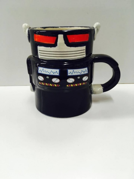 Coffee Mug - Robot