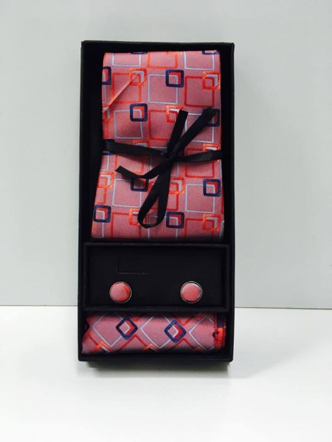 Tie Gift Set - Red