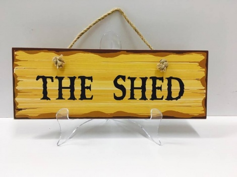 Shed Sign - The Shed