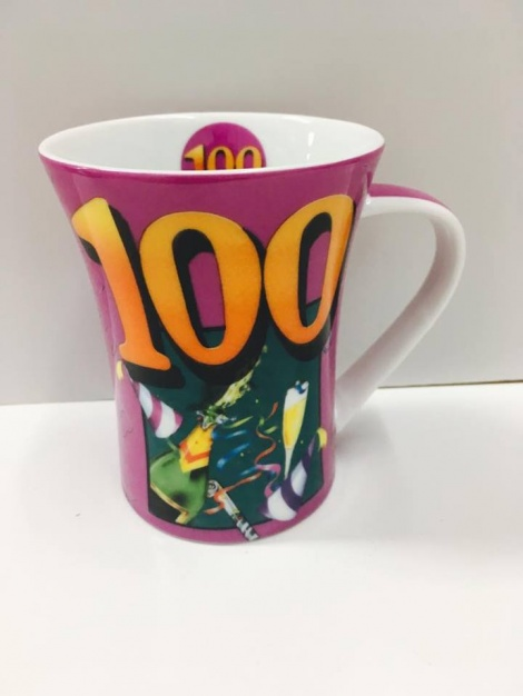 100th Coffee Mug