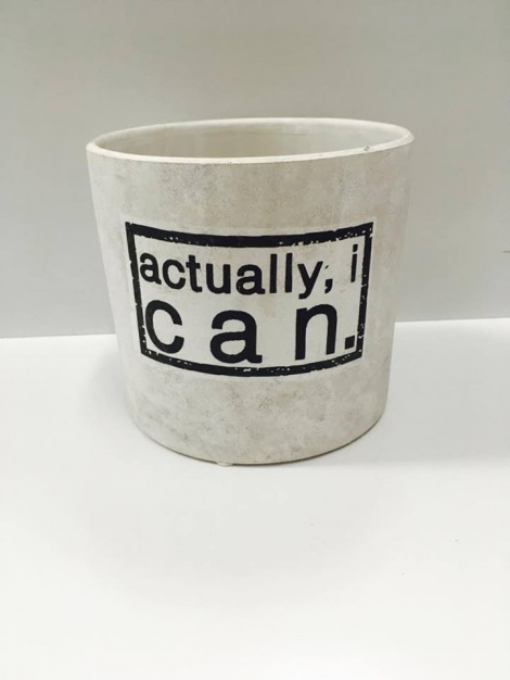 Motivational Vase - I Can