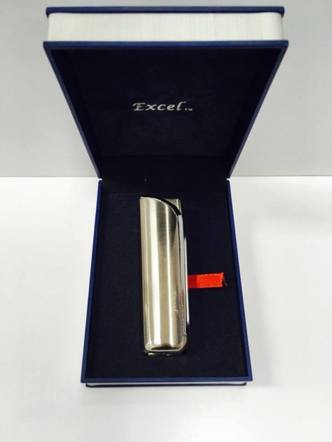 Excel Lighter - Silver Jet
