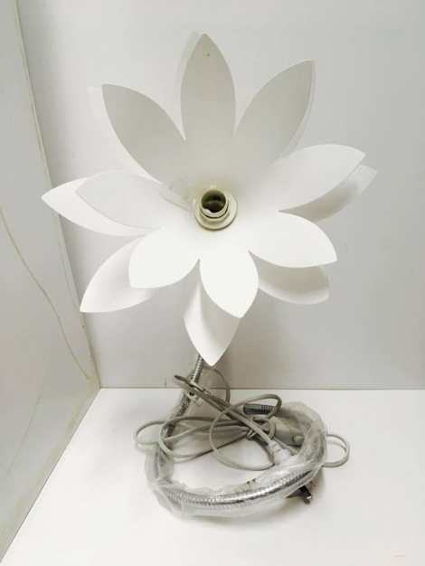 Flower Lamp - White