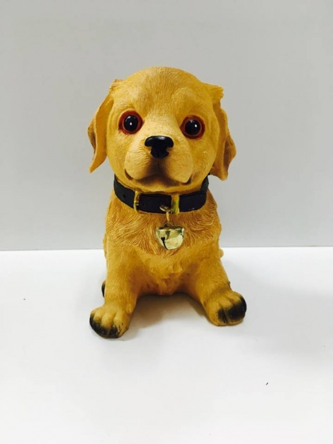Puppy with Bell - Labrador