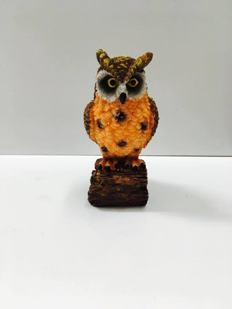 Owl - Brown & Tan