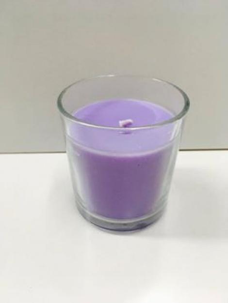 Glass Scented Candle
