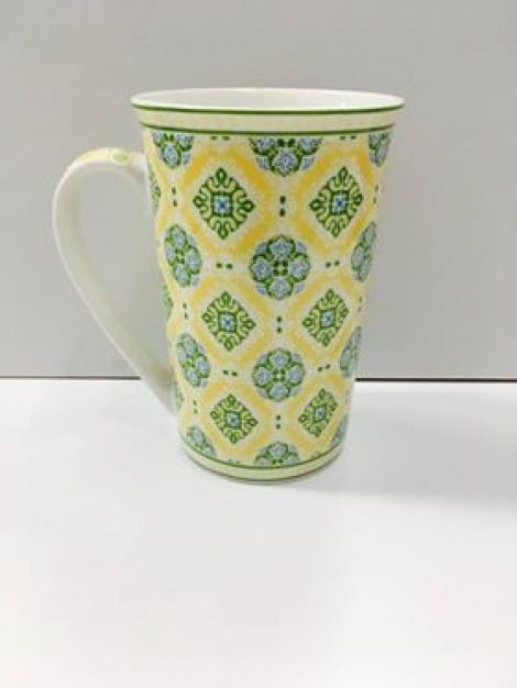 Bone China Mug - Yellow