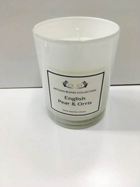 Glass Scented Candle - Artisan Blend