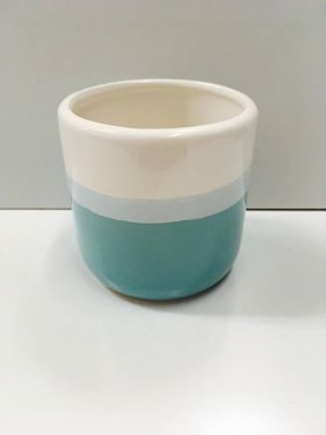 Blue & White Vase - Small