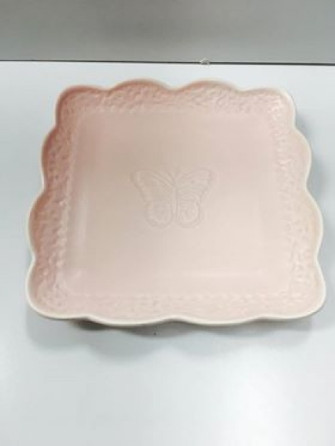 Ceramic Plate - Dusty Pink