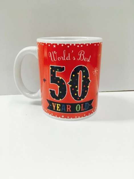 50th Coffee Mug - Unisex