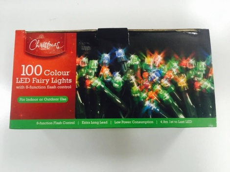 Christmas Lights - 100 Piece LED