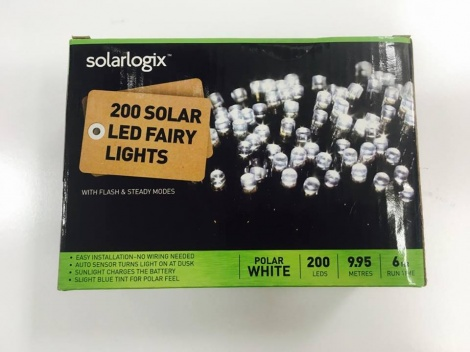Christmas Lights - 200 Piece Solar