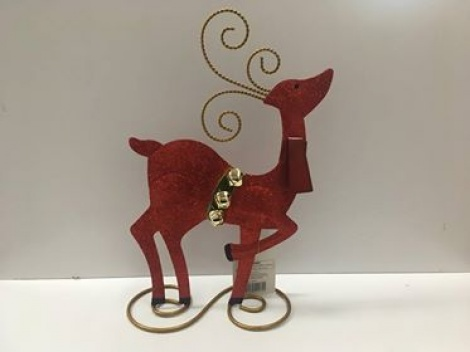 Christmas Metal Decoration - Reindeer