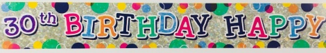 Party Banner - 30th