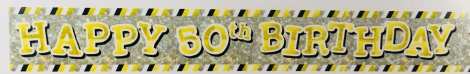 Party Banner - 50th