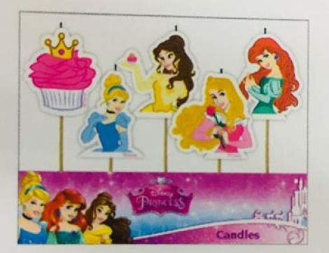 Disney Princess - Candles