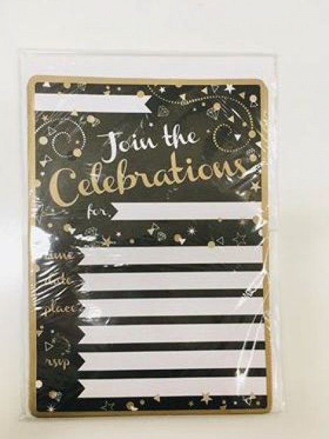 Party Invitations - Celebrations