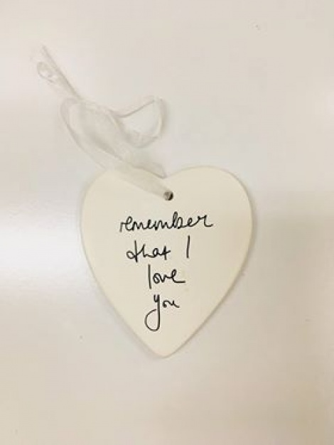 Sentimental Hanging Decoration - Remember