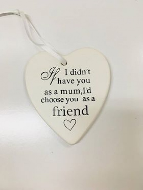 Sentimental Hanging Decoration - My Mother, My Friend