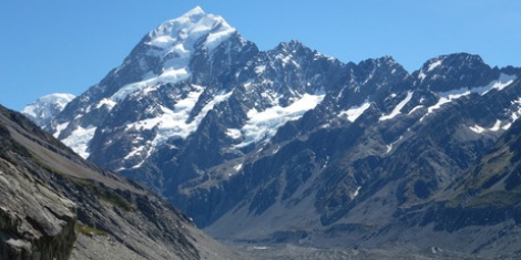 Mt Cook: Swimming with icebergs