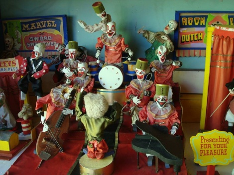 Toy Circus band, 100 years old!