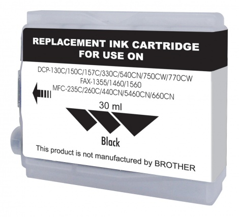 Brother Compatible LC38 / 67 BLACK (JCB913)